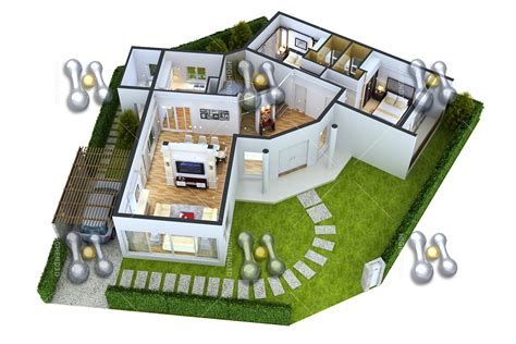simple 2 bedroom house plans simple house plan with 3 bedrooms 3d simple house plan