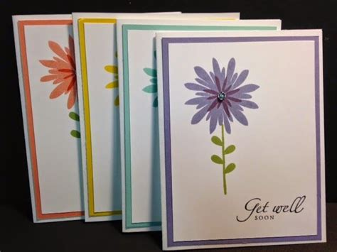 rubber sting cards ideas 25 best ideas about flower patch on cards