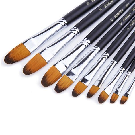 acrylic paint brushes 9pcs paint brush acrylic paint brush hair