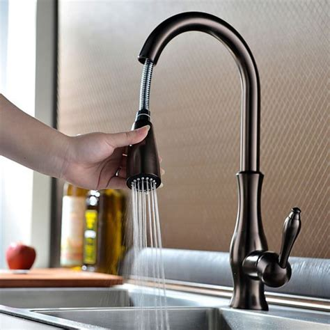 Best Kitchen Faucet Brands antique pullout spray sidespray pre rinse brass oil rubbed