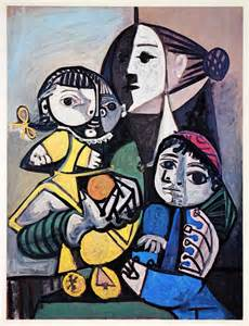 picasso paintings as a child pablo picasso and child