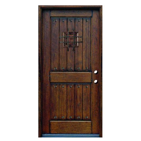 wood door jeld wen 32 in x 80 in woodgrain flush solid