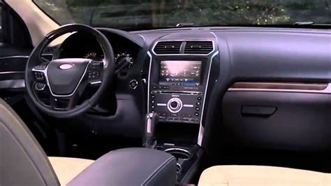 Ford Explorer Interior by 2017 Ford Explorer Platinum Interior Exterior And Driving