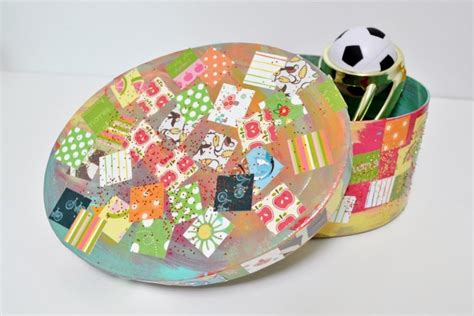 decoupage craft easy craft decoupage treasure box mod podge rocks