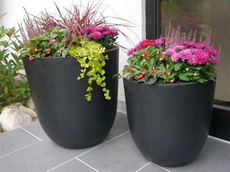 Blumenkübel Bepflanzen Vorschläge by Blumenk 252 Bel Nero Der Blumeninsel Mainau Aus Fiberglas In