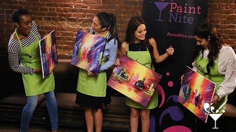 paint nite discount paint nite 44 discount local bar painting events rush49