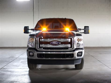 ford lights factory installed strobe warning led lights will be