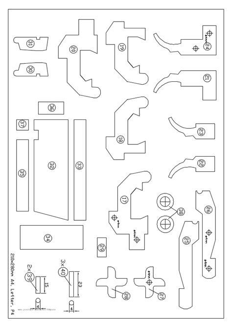 rubber st template free m9 rubber band gun