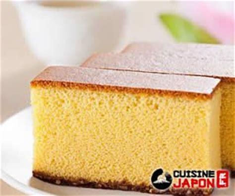 cake castella ou kasutera dessert japonais
