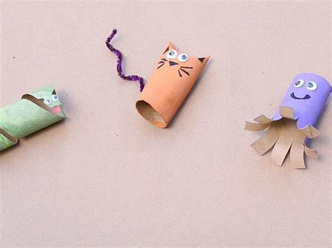 paper crafts for 3 year olds crafts toilet paper roll animals babycenter