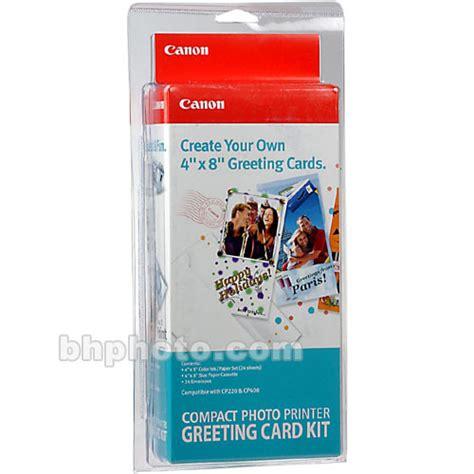 greeting card kit canon greeting card kit 9401a002 b h photo
