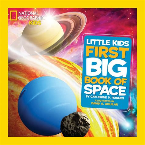 space picture books national geographic big book of space