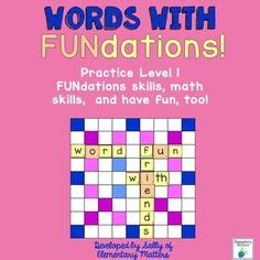 scrabble skills 1000 images about fundations on handwriting