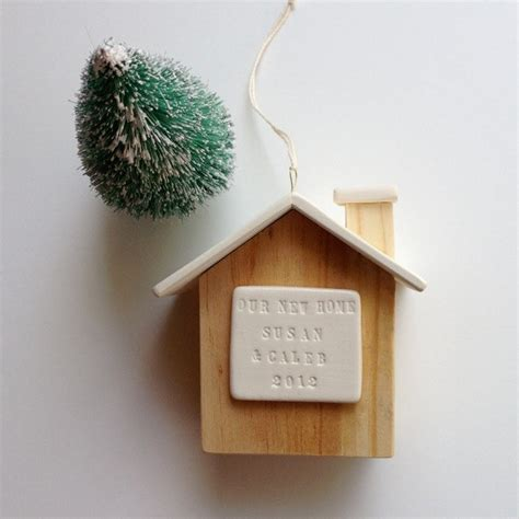 home ornaments personalized house ornament new home house warming our