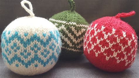 knit ornaments knitted ornaments a kit yarns untangled