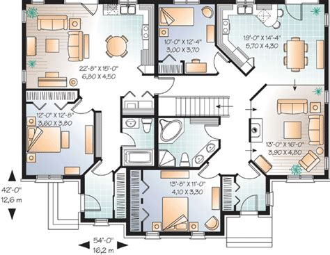 house plans with inlaw suites house plan with in suite 21766dr 1st floor master suite cad available canadian in