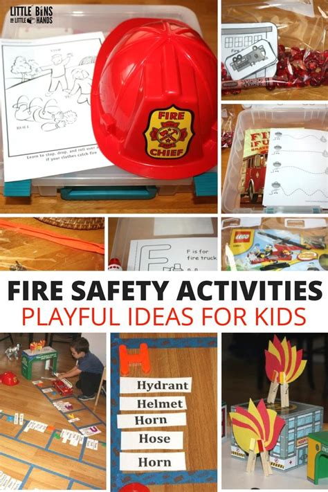 safety crafts for safety play activities and safety learning