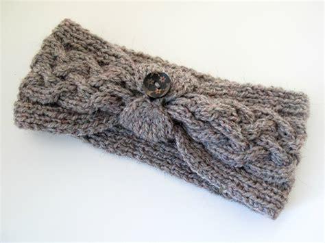 knitting headband pattern cable knit headband patterns a knitting