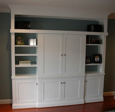 entertainment cabinets with doors made custom entertainment center with sliding doors