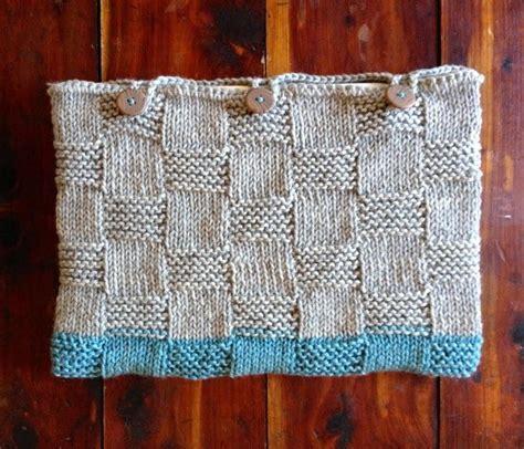 basket weave knitting pattern laptop sleeve basketweave knitting pattern