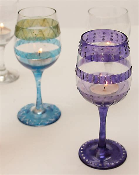 wine glass decorations spice up wine glasses to diy wine glasses