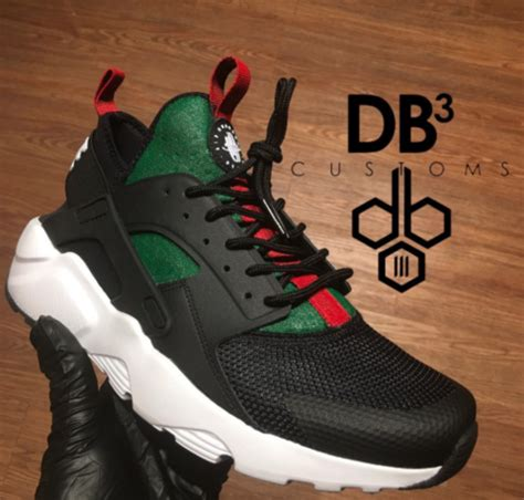 angelus paint huaraches thought it was a drought gucci color by angelus paint
