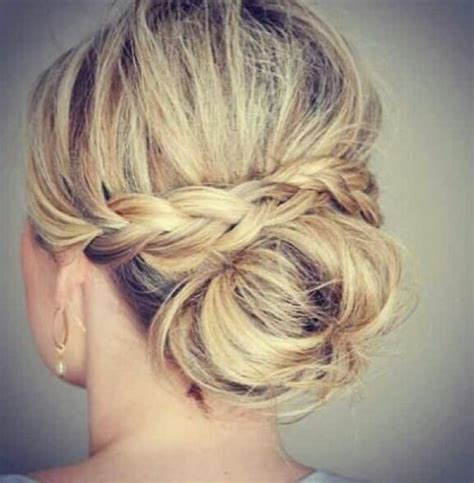 braided hairstyles for thin hair prom hairstyles updos thin hair