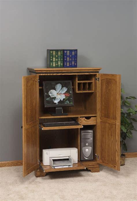 amish computer armoire amish computer armoire desk