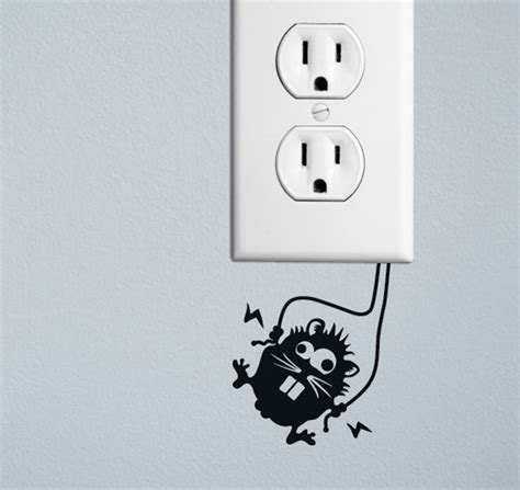 20 creative wall outlet stickers and covers for your
