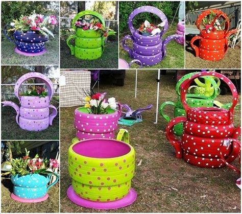 gardening crafts for 25 best ideas about recycled garden crafts on