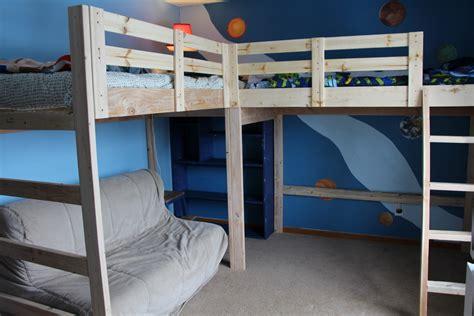 bed loft plans building plans for bunk beds woodworking