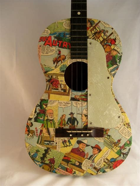how to decoupage a guitar decoupaged guitar by trashdeco on etsy 60 00 decoupage