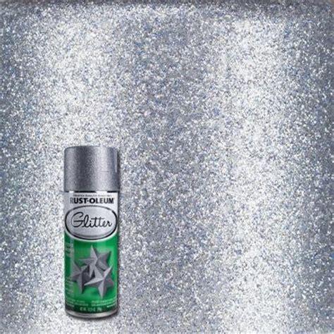 home depot spray paint glitter rust oleum specialty 10 25 oz silver glitter spray paint