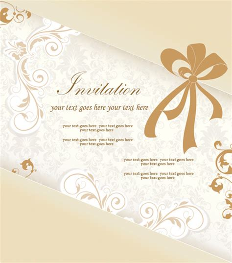 invitation card software free invitation card free vector 12 729 free vector