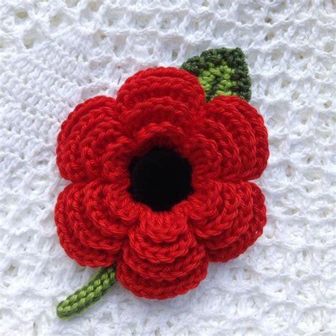 knitting pattern for a poppy flower 25 best ideas about crochet poppy on crochet