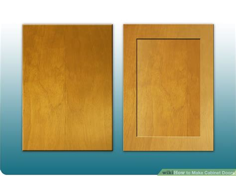 make cabinet doors how to make cabinet doors 9 steps with pictures wikihow