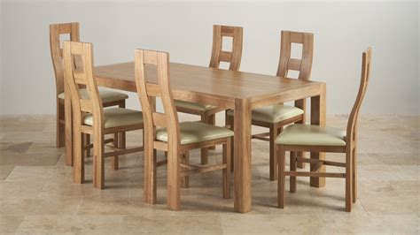 set of dining table and chairs 6ft dining table sets oak furniture land