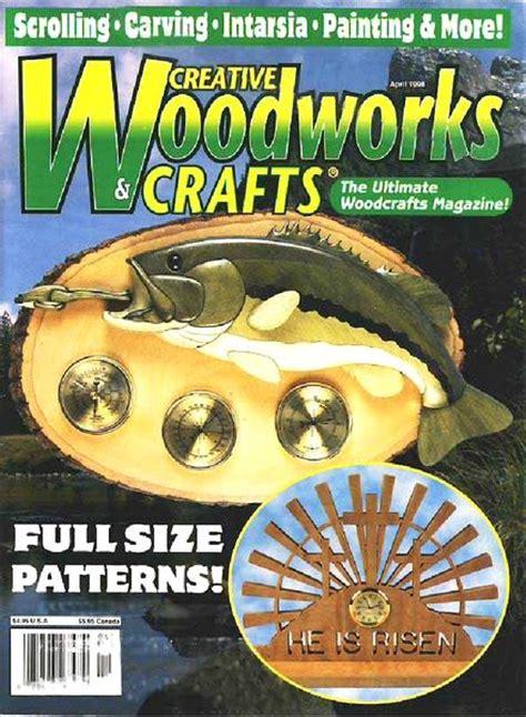 creative woodworks creative woodworks crafts issue 54 april