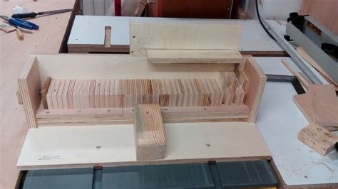 woodworking without a table saw βox joint jig for table saw without dado by tamtum