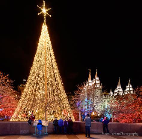 lights at temple square temple square lights 2015 jason larsen photography