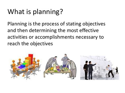 planning a for work project planning and project work plan