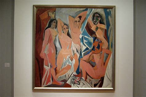picasso paintings in moma nyc moma pablo picasso s les demoiselles d avignon