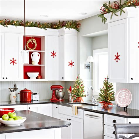 Decorating Ideas For Top Of Kitchen Cabinets 50 best christmas decoration ideas for 2017