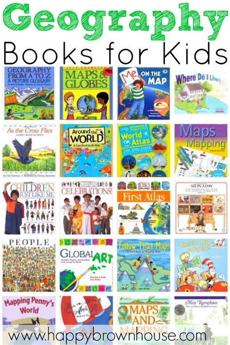 geography picture books geography books for happy brown house