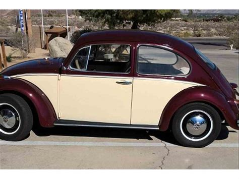 Volkswagen Classic Beetle For Sale by 1968 Volkswagen Beetle For Sale Classiccars Cc 960013
