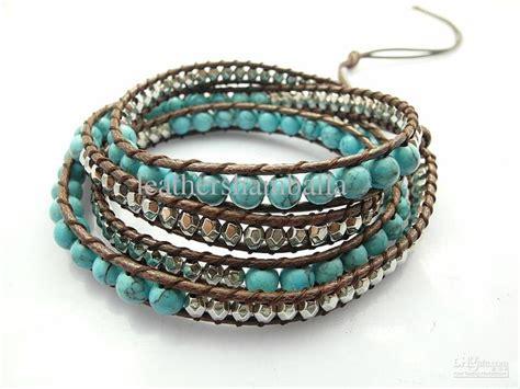 bead wrap bracelet blue turquoise bead wrap bracelet jewelry inspirations