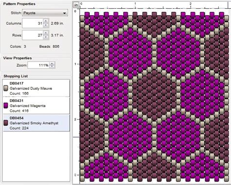 peyote stitch beading patterns imaginesque beading peyote stitch pattern 8 patchwork