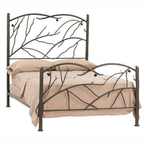 iron rod bed frame iron beds wrought iron beds humble abode