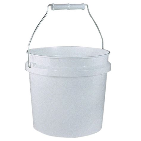 home depot paint lid leaktite 1 gal plastic white pail 24 pack 210646 the