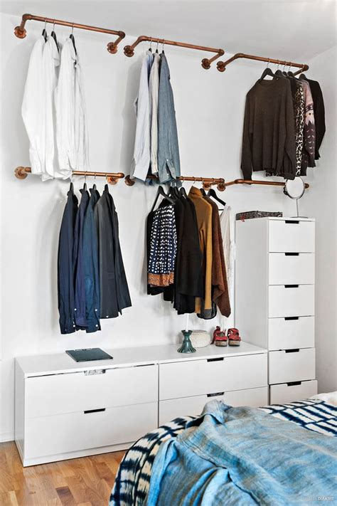 diy storage ideas for clothes 25 best ideas about hanging wardrobe on open